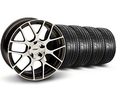 TSW Nurburingring Gunmetal Wheel & Mickey Thompson Tire Kit - 18x9 (05-14)