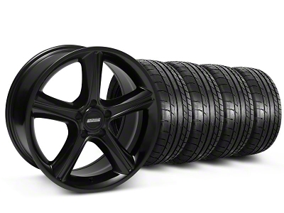2010 GT Premium Style Black Wheel & Mickey Thompson Tire Kit - 18x9 (05-14 GT, V6)