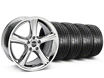 2010 GT Premium Style Chrome Wheel & Mickey Thompson Tire Kit - 18x9 (05-14)