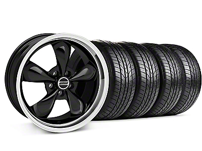Bullitt Black Wheel & Sumitomo All Season Tire Kit - 17x9 (87-93 5 Lug Conversion)