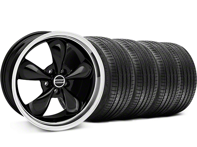 Bullitt Black Wheel & Sumitomo Tire Kit - 17x9 (87-93 5 Lug Conversion)