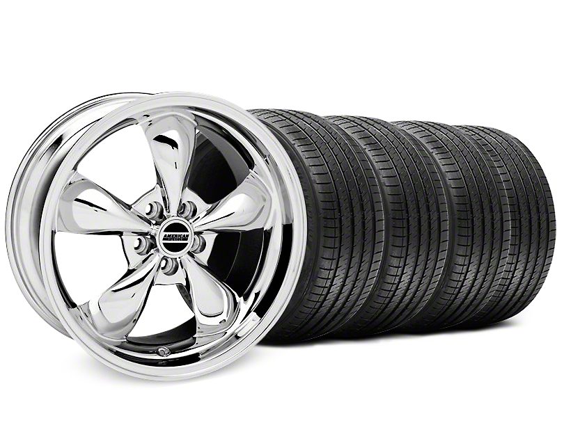 Bullitt Chrome Wheel & Sumitomo Tire Kit - 17x9 (87-93 5 Lug Conversion)