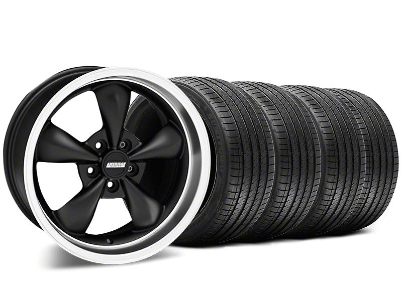 Bullitt Matte Black Wheel & Sumitomo Tire Kit - 17x9 (87-93 5 Lug Conversion)