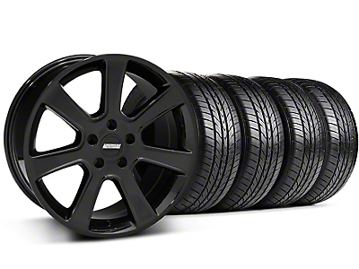 S197 Saleen Black Wheel & Sumitomo All Season Tire Kit - 18x9 (87-93 5 Lug Conversion)