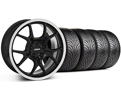 GT4 Black Wheel & Sumitomo Tire Kit - 18x9 (87-93 5 Lug Conversion)