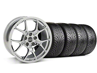 GT4 Chrome Wheel & Sumitomo Tire Kit - 18x9 (87-93 5 Lug Conversion)