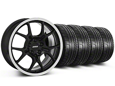 GT4 Black Wheel & Mickey Thompson Tire Kit - 18x9 (87-93 5 Lug Conversion)