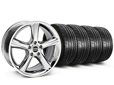 2010 GT Premium Chrome Wheel & Mickey Thompson Tire Kit - 18x9 (87-93 5 Lug Conversion)