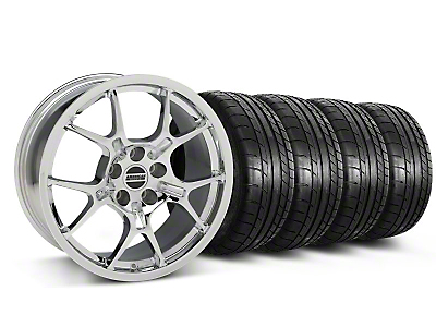 GT4 Chrome Wheel & Mickey Thompson Tire Kit - 18x9 (87-93 5 Lug Conversion)