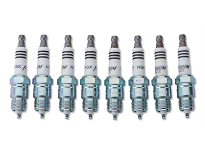 NGK Iridium IX Performance Spark Plugs (83-85 5.0L)