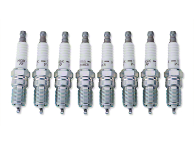 NGK V-Power Performance Spark Plugs (93-01 Cobra; 96-04 GT, Mach1; 98-04 V6)
