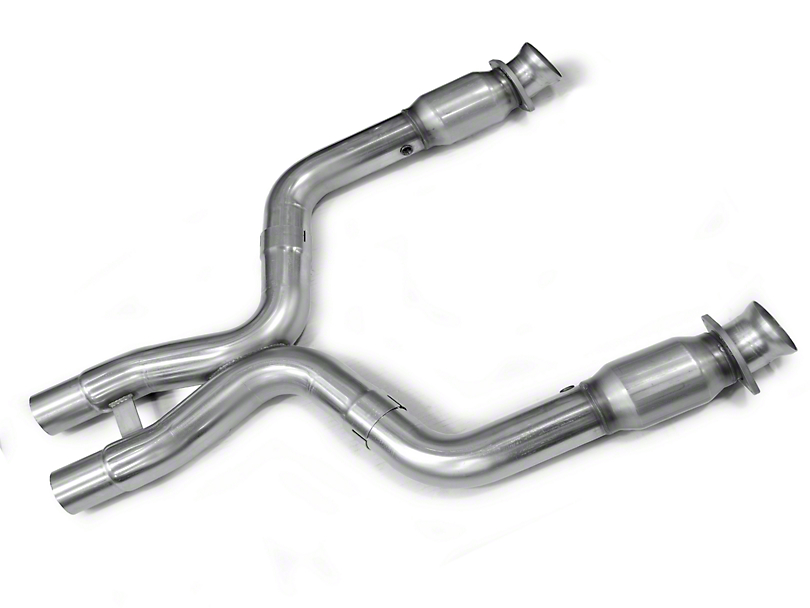 Kooks Catted X-Pipe (11-14 GT500 w/ Long Tube Headers)