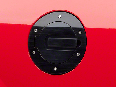 SHR Black Fuel Door (05-09 All)