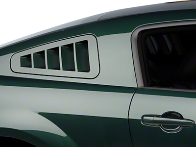 SHR Flush-Mount Quarter Window Louvers - Unpainted (05-09 All)