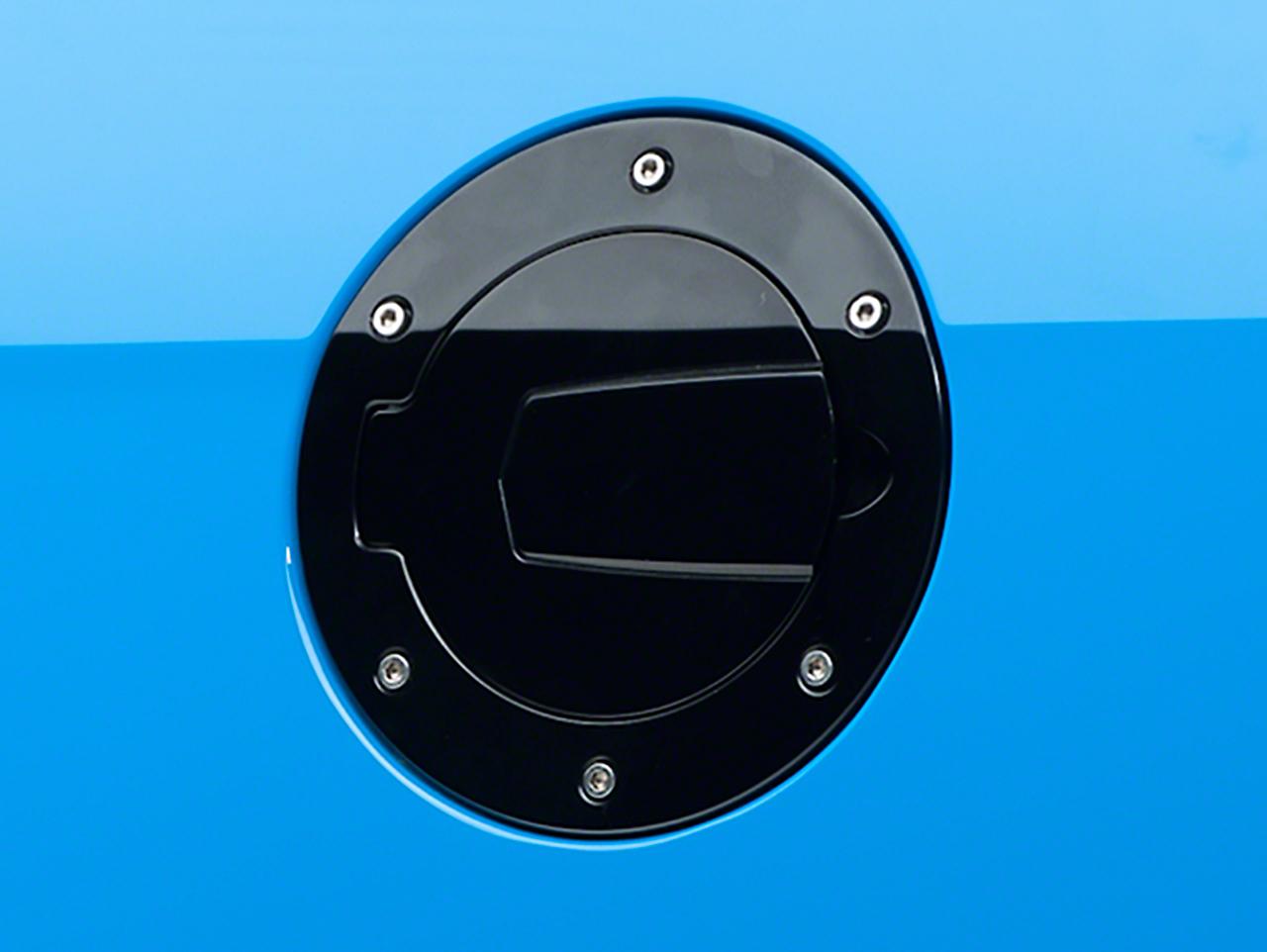 SHR Black Fuel Door (10-14 All)