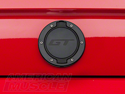 SHR Black Deck Lid Medallion - GT Logo (05-09 All)