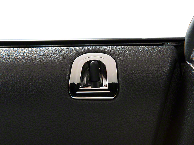 SHR Chrome Door Lock Pocket (05-09 All)