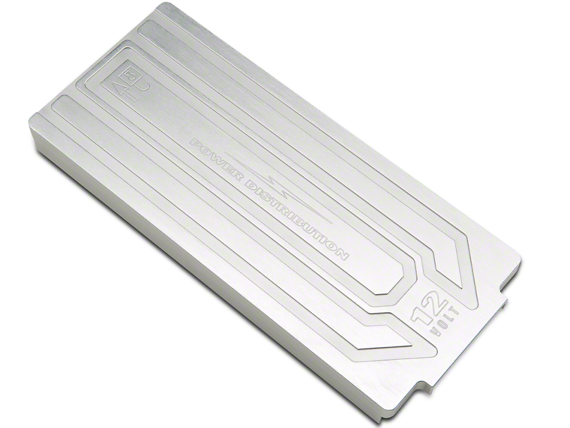 SHR Brushed Satin Fuse Box Cover (10-14 All)