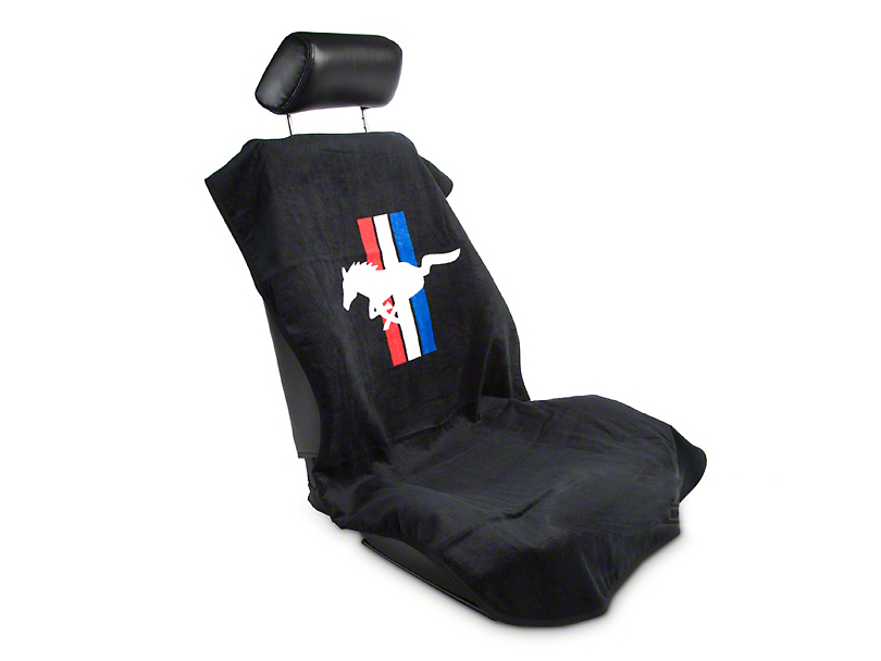 SpeedForm Seat Armour Protective Cover - Black - Pony (79-14 All)