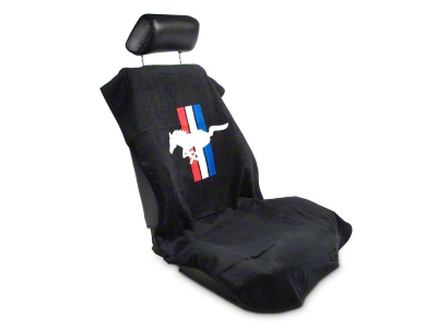 Seat Armour Protective Cover - Black - Pony (79-14 All)