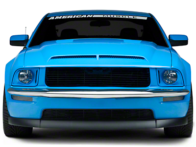 Retro USA Chrome Front Bumper Trim (05-09 GT)