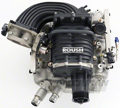 Roush M90 Supercharger Kit - Black (09 GT)