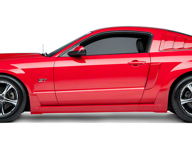 Roush Rocker Molding Kit - Unpainted (05-09 All)