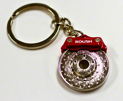 Roush Big Brake Rotor Keychain