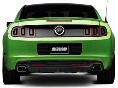 Roush mustang rear valance 421406 13 14 all free shipping for Garage seat valence