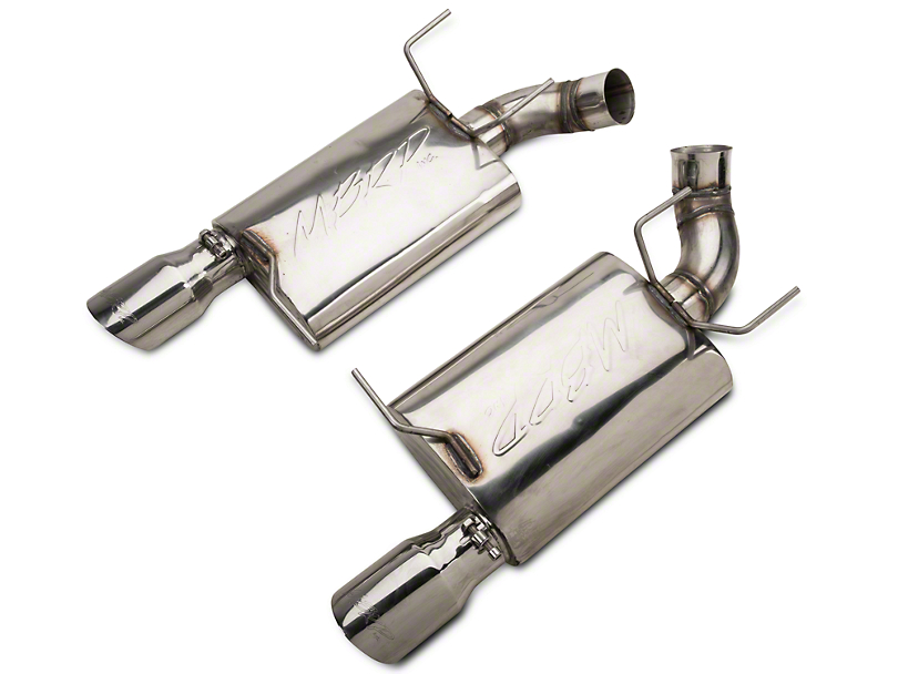 MBRP Pro-Series Axleback Exhaust - Stainless Steel (11-14 GT)