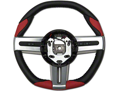 Grant Steering Wheel - Black/Red (05-09 All)