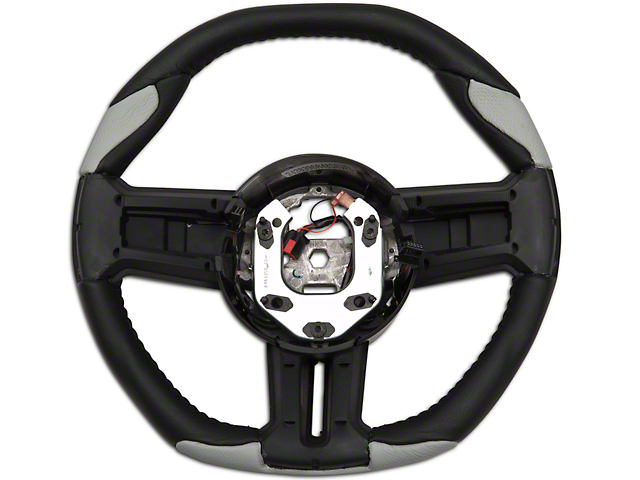 Grant Steering Wheel - Black/Gray (10-14 All)