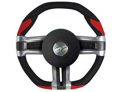 Grant Steering Wheel - Black/Red (10-14 All)