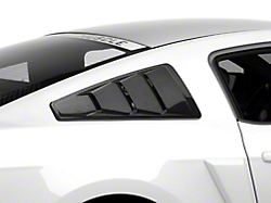Mmd Mustang Unpainted Quarter Window Louvers 71303 00 05