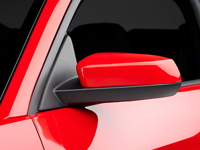 SpeedForm Mirror Covers - Unpainted (10-14 V6)