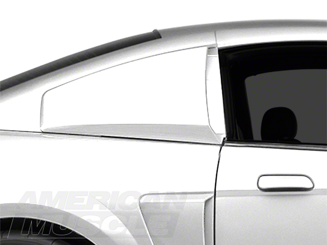 MMD Quarter Window Scoops - Unpainted (99-04 All)
