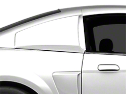 1999 2004 mustang side window louvers scoops for 2000 mustang rear window louvers