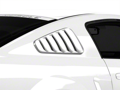 MMD Classic Quarter Window Louvers - Unpainted (05-09 All)