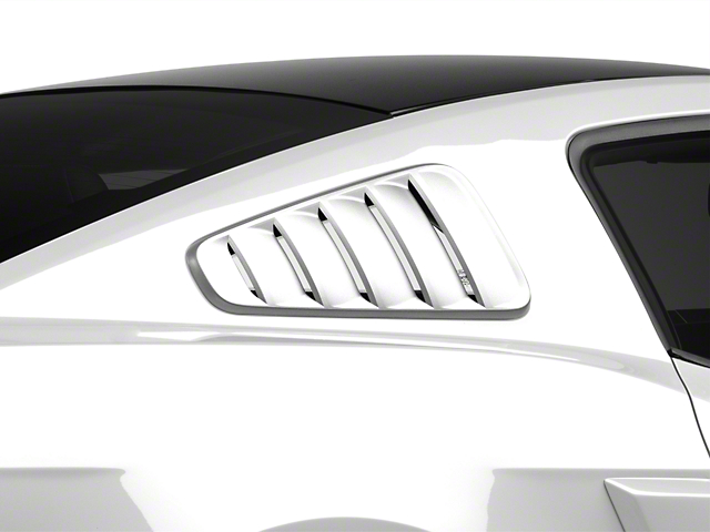 MMD Classic Quarter Window Louvers - Unpainted (10-14 All)