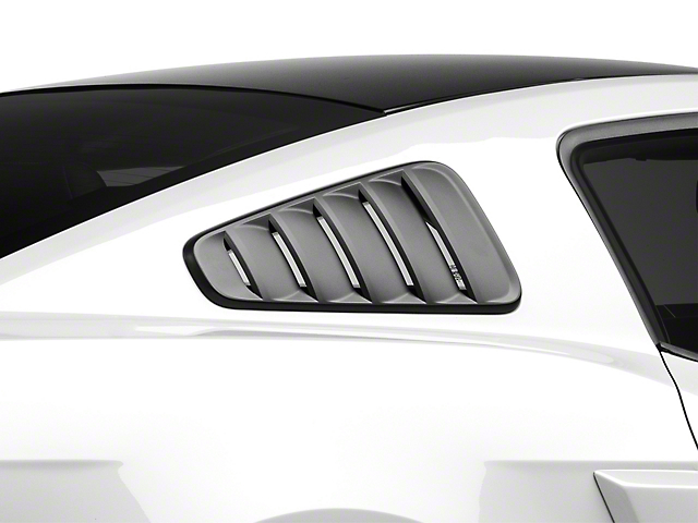 SpeedForm Classic Quarter Window Louvers - Matte Black (10-14 All)