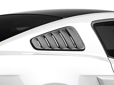MMD Classic Quarter Window Louvers - Matte Black (10-14 All)