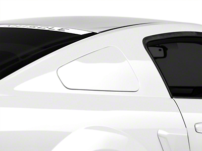 MMD GT350 Style Window Covers - Unpainted (05-09 All)