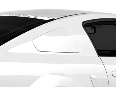 MMD GT350 Style Window Covers - Pre-Painted (05-09 All)