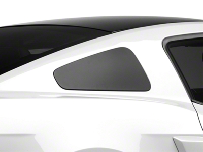 MMD GT350 Style Window Covers - Matte Black (10-14 All)