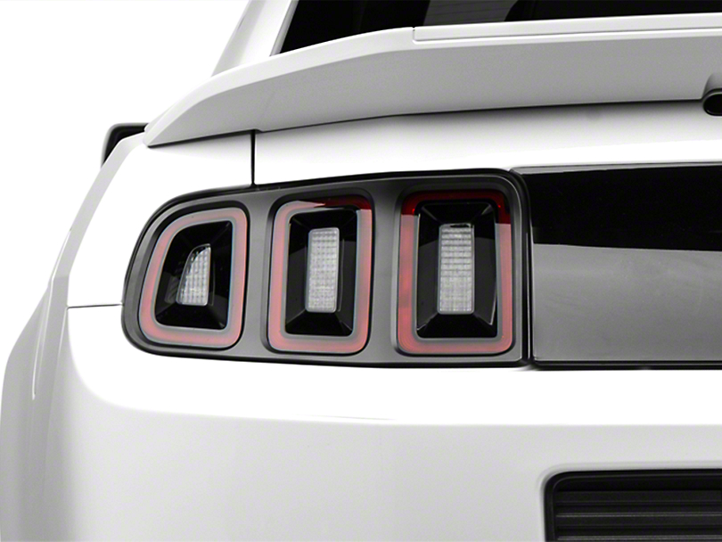 MMD Matte Black Tail Light Trim (13-14 All)