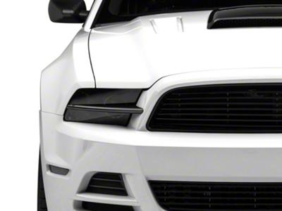 MMD Headlight Splitters - Carbon Fiber (13-14 All)