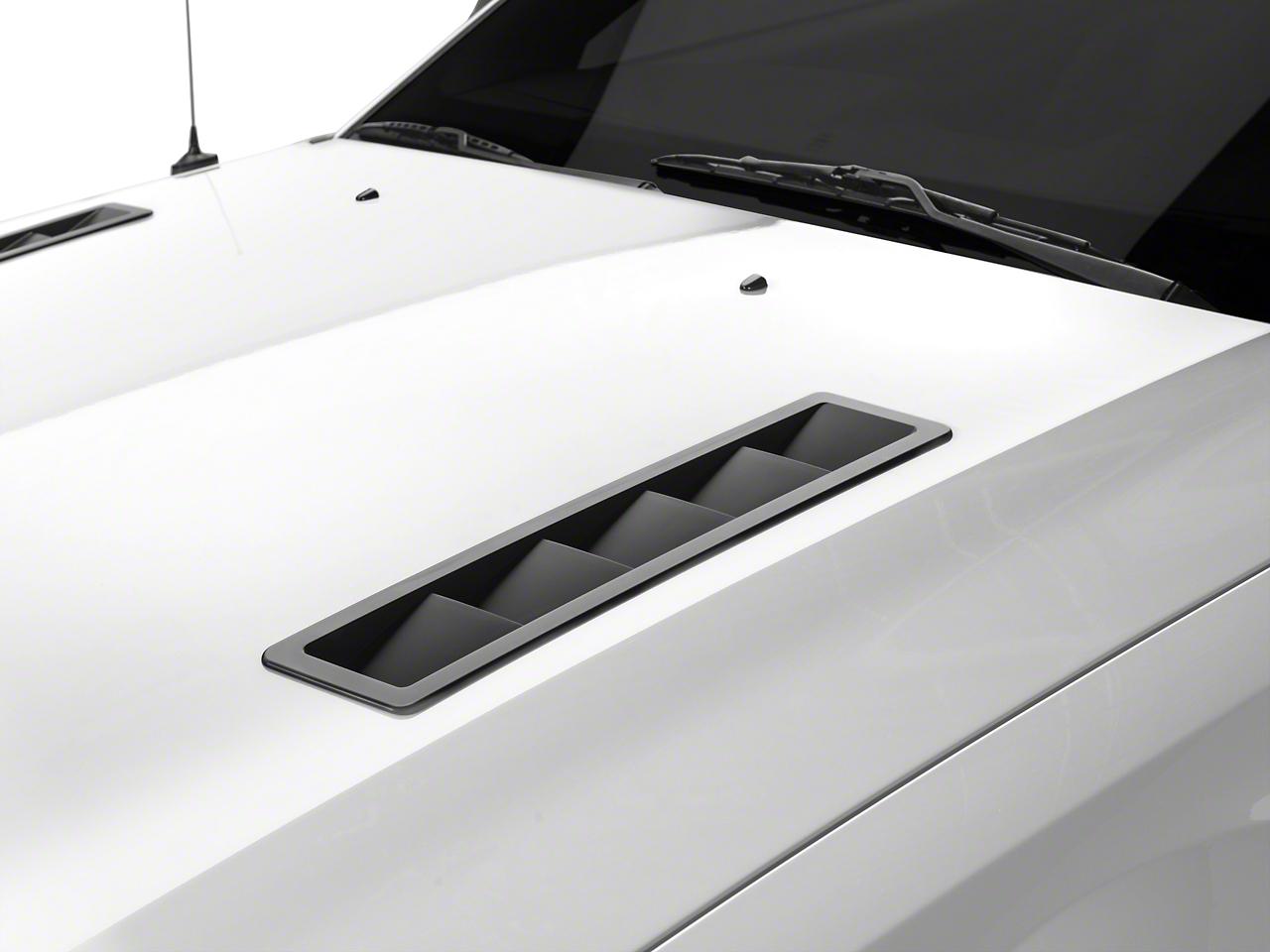MMD Hood Vent Louvers - Matte Black (05-09 GT, V6)