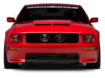 Cervini's Ram Air Hood - Unpainted (05-09 GT, V6)