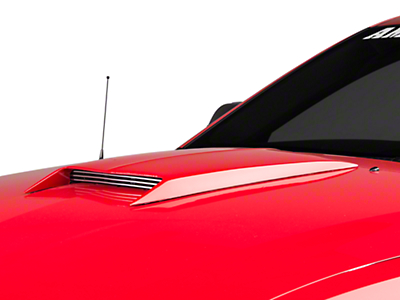 Cervini's M1 Hood Scoop - Unpainted (05-09 GT, V6)