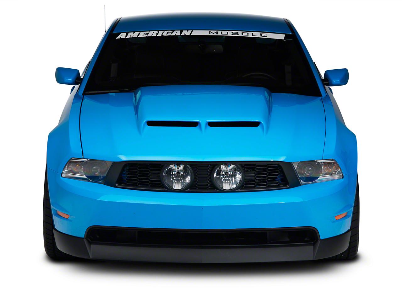 Cervini's Ram Air Hood - Unpainted (10-12 GT, V6)